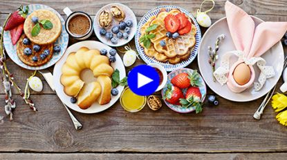 Paasbrunch maison: 5 snelle recepten boordevol vitamines voor een guiltfree ontbijt