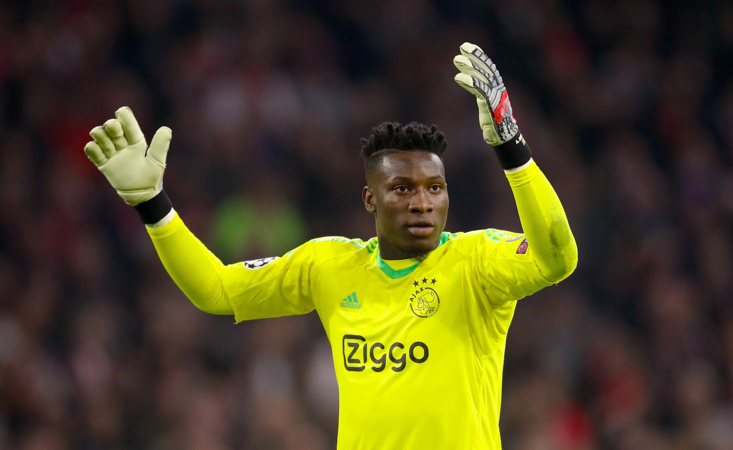 Ajax goalkeeper André Onana.