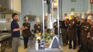 Ballieu en Vrijmoed geven workshop plantaardig koken in Hotelschool Gent