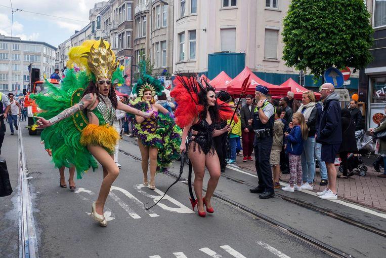 De parade van Borgerrio.