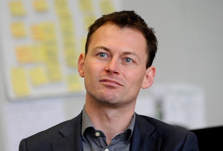 Marco Florijn, de nieuwe voorzitter van de NVVK, de Nederlandse Vereniging voor Volkskrediet, branchevereniging van de schuldhulpverlening en sociaal bankieren. Beeld Hollandse Hoogte