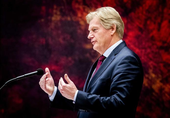 Voormalig staatssecretaris Martin van Rijn.