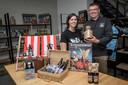 Rebekka Lyssens en Bert Van Hecke hebben met BOM Brewery geen brouwerij, maar een moutbakkerij.