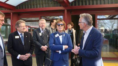 IJslandse president Lions Club International bezoekt de realisaties in Molenstede