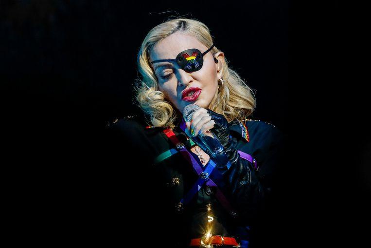 Madonna heeft opnieuw een concert moet afzeggen