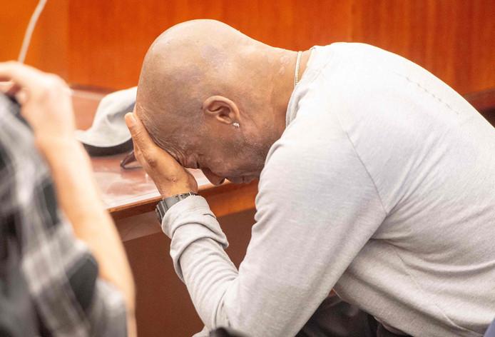 DeWayne Johnson reageert opgelucht op de uitspraak van de jury.