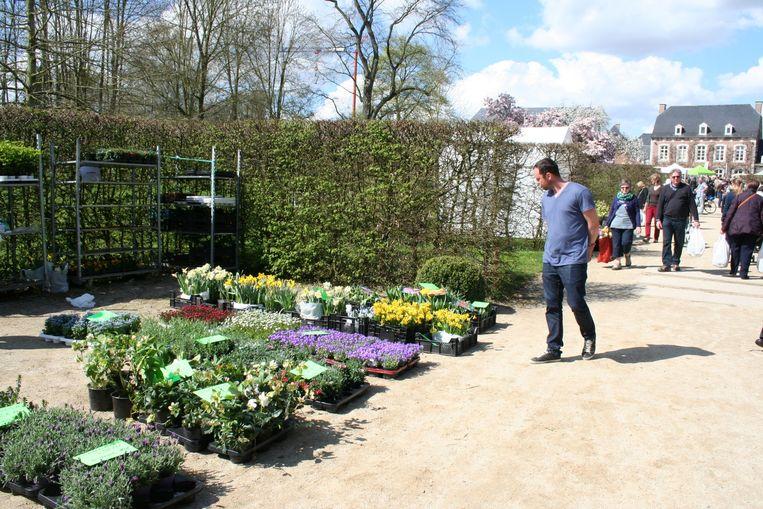 Plantenmarkt in de Tuinen van Hoegaarden, nu het Park