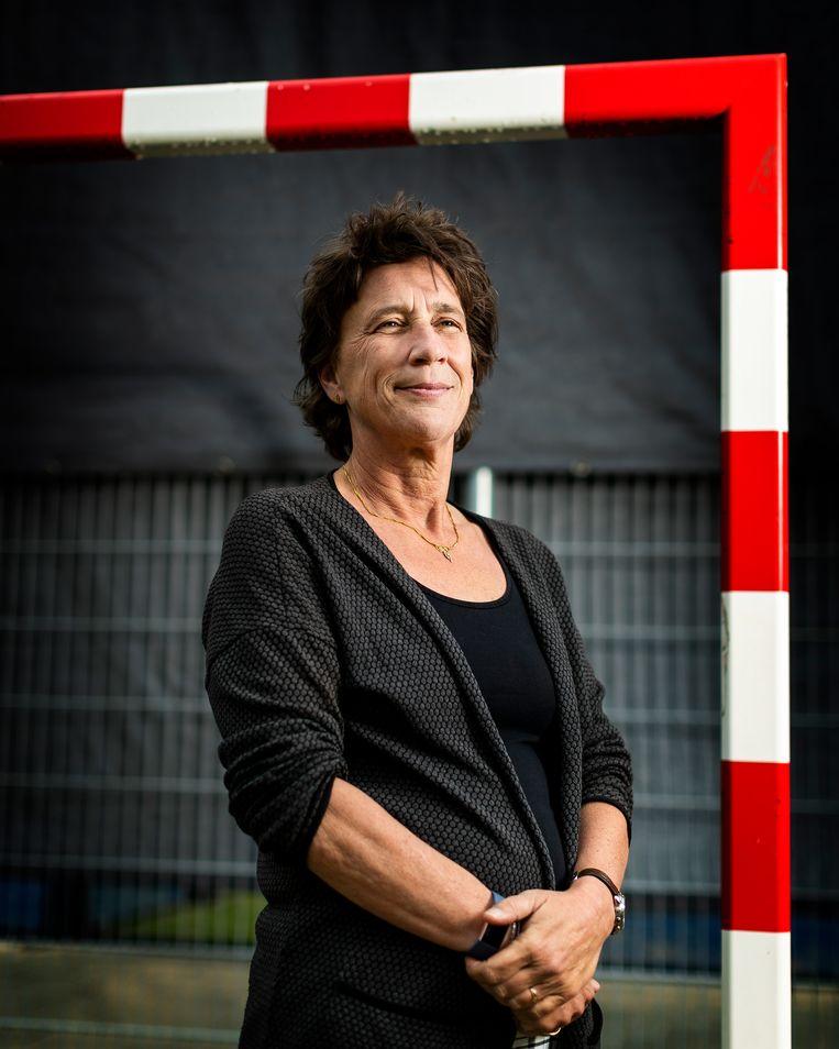 Anneke van Zanen, Voorzitter NOC/NSF.  Beeld Jiri Buller