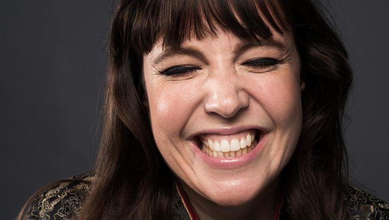Dichter en columnist Ellen Deckwitz. Beeld Robin De Puy / de Volkskrant