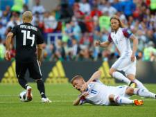 IJsland houdt Argentinië op 1-1, Gudmundsson blijft op de bank