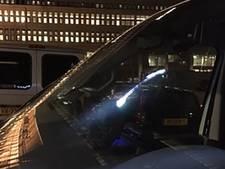 Agenten redden vrouw; 'zielige dader' bespuugt politiewagen