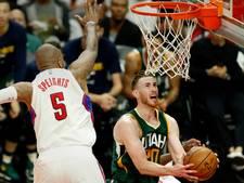 Utah Jazz wipt LA Clippers uit play-offs
