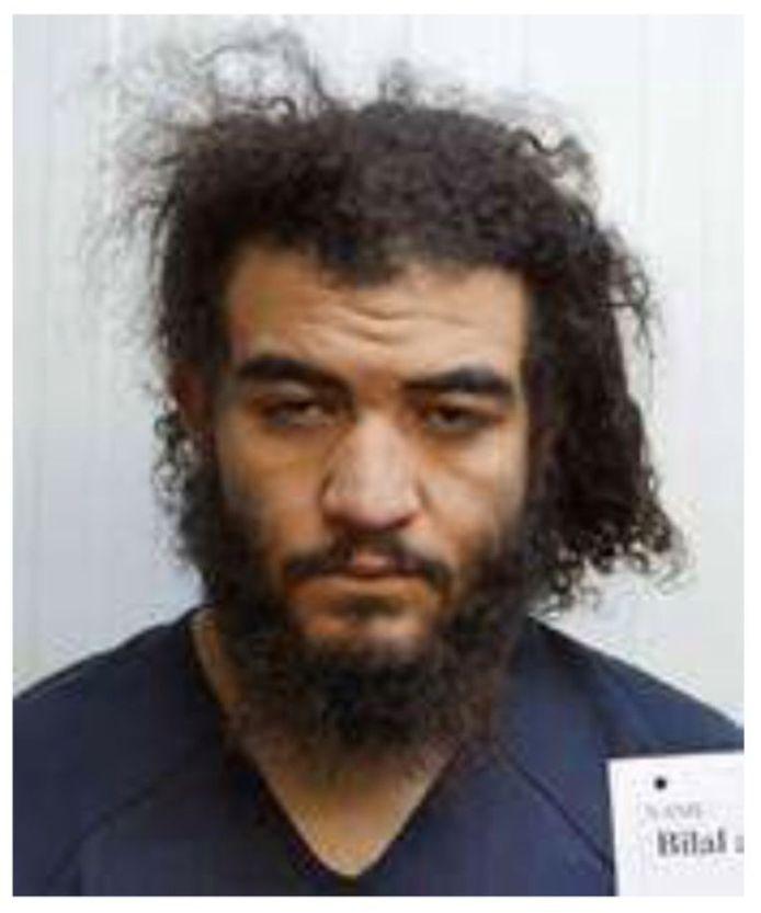 Bilal Al Marchohi, photographié dans une prison en Syrie.