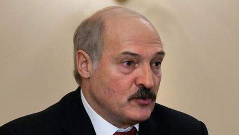 De Wit-Russische president Aleksandr Loekasjenko