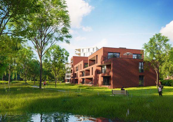 De appartementen van De Heern in Herentals zullen binnen een tweetal jaar klaar zijn