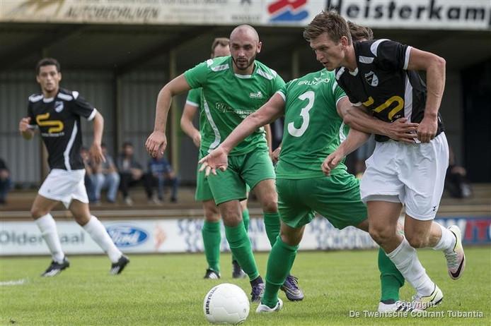 Rens van Benthem maakte vijf goals tegen OFC.