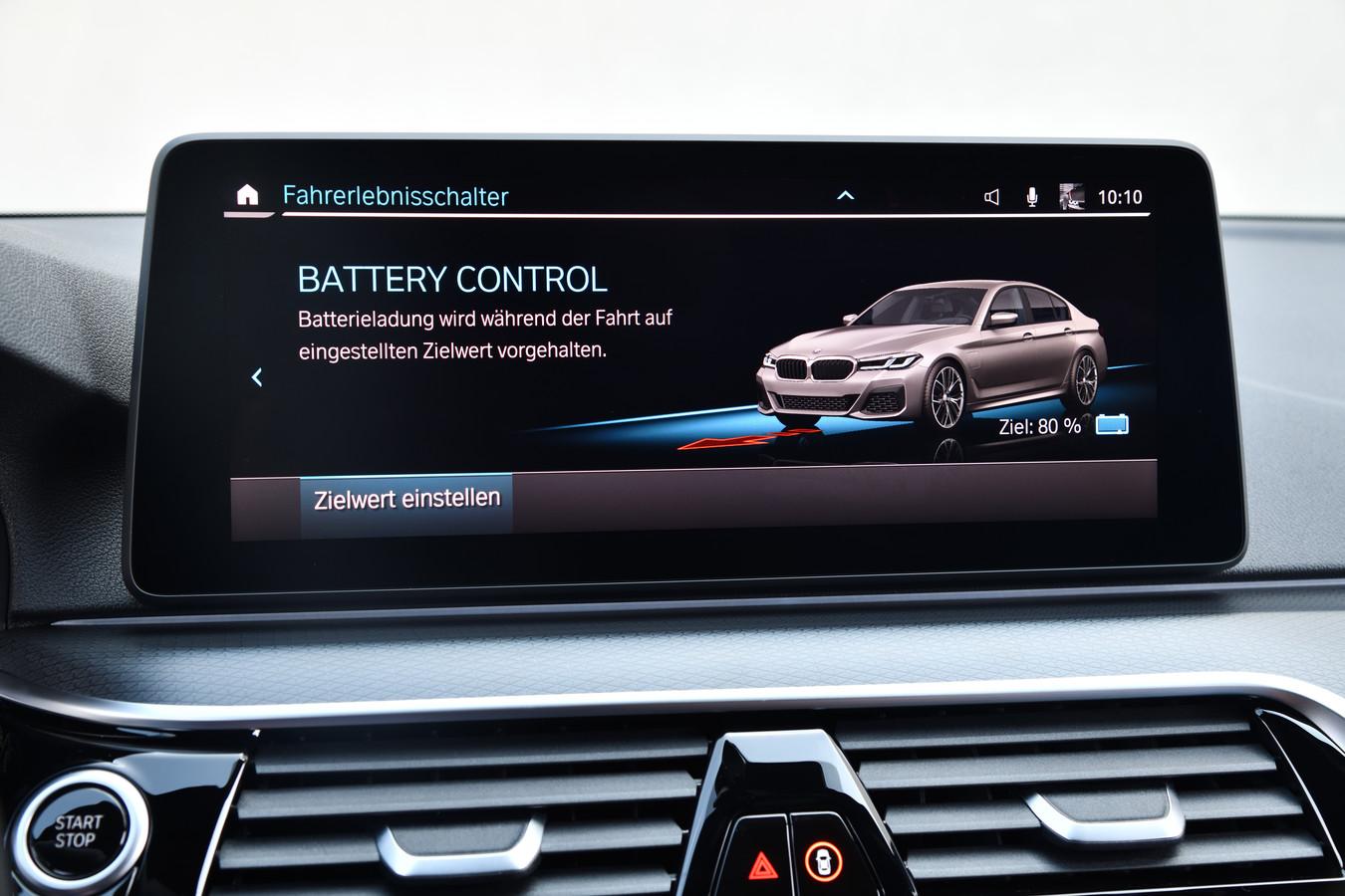 Allerhande systemen helpen om zoveel mogelijk elektrisch te rijden