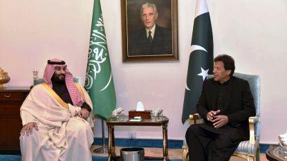 Saudische kroonprins krijgt hoogste burgerlijke onderscheiding in Pakistan na miljardeninvestering