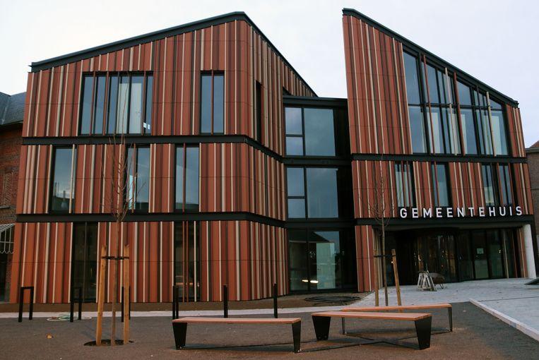 Het gemeentehuis van Lille werd eind december al in gebruik genomen.