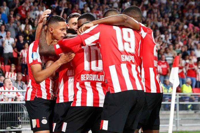 PSV kon vorige week drie goals vieren tegen Apollon Limassol.