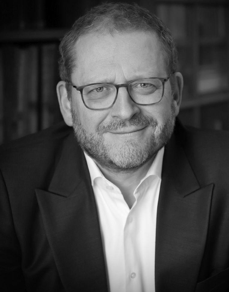 Emile Schrijver, Algemeen directeur van het Joods Cultureel Kwartier in Amsterdam en bijzonder hoogleraar aan de UvA in de geschiedenis van het Joods cultureel erfgoed. Beeld -