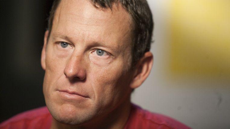 Door Lance Armstrong is onnoembaar vaak een streep getrokken. Beeld ap