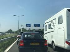 Lange files door werk aan spoor in Vlissingen