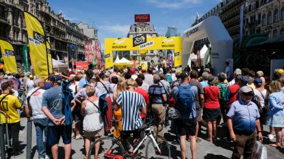 Grand Départ na 50 jaar weer in onze hoofdstad en dus heerst er wielergekte in Brussel: Fan Park op het De Brouckèreplein rekent op minstens 200.000 bezoekers