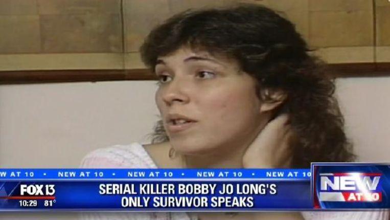 Lisa Noland nadat ze vrijgelaten was.
