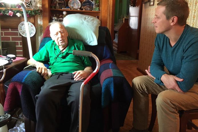 Edward Fulmer kreeg onlangs nog bezoek van een andere held: Gijs Tuinman.