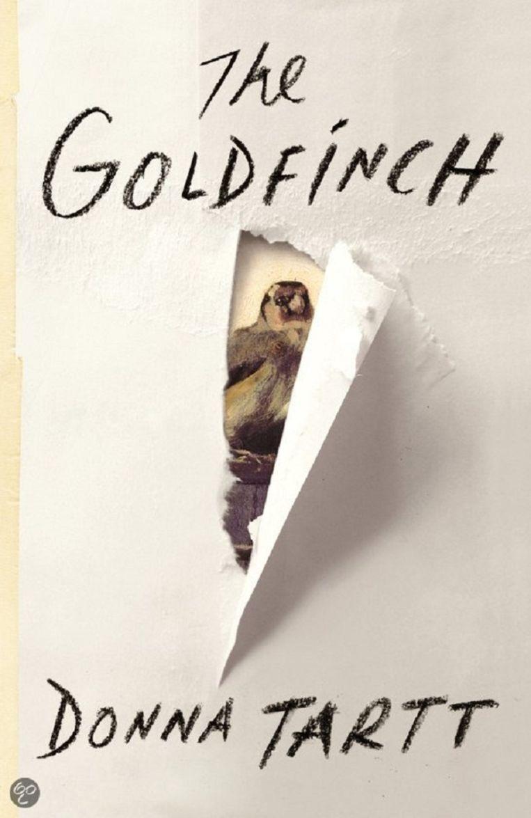 The Goldfinch. Beeld Boekcover