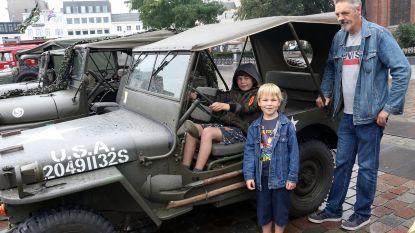 Evacuatie van Alphenaren naar de Kempen tijdens bevrijding herdacht met militaire colonne