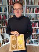 Arthur Brand met het boek