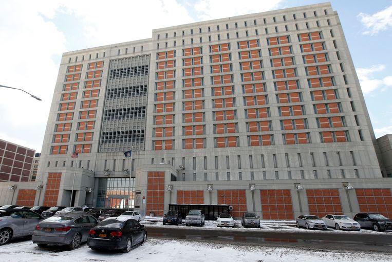 Het Metropolitan Detention Center (MDC) in Brooklyn.