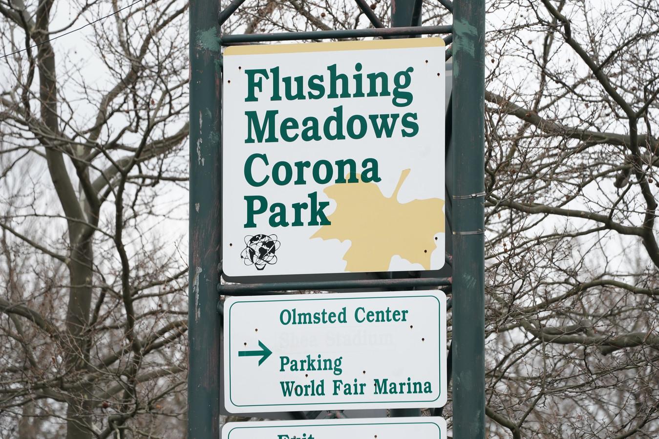 Het tenniscomplex in New York fungeert momenteel als noodhospitaal.