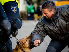 Politie traint met honden tegen 'raddraaiers' in oude discotheek Déjàvu Dinxperlo