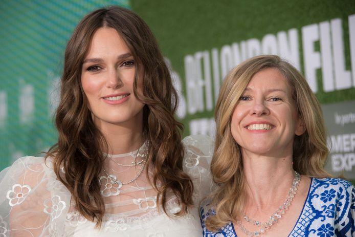 Keira Knightley (à gauche) et Katharine Gun (à droite).