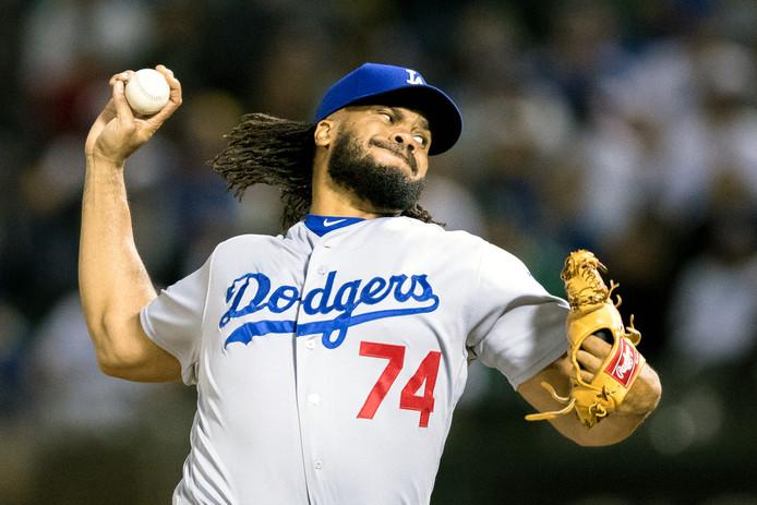 Los Angeles Dodgers-pitcher Kenley Jansen.