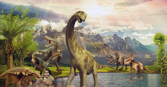 Foto ter illustratie. De nu ontdekte fossielen zijn ongeveer 140 miljoen jaar ouder dan de eerste dinosaurussen die over de aarde zwierven.