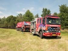 Geen gevaar, wel rookoverlast door Peelbrand in Liessel
