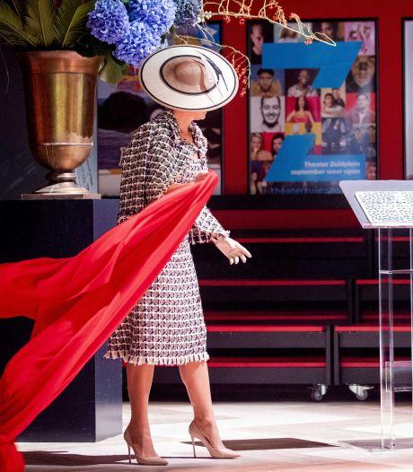 Koningin Máxima opent Theater Zuidplein en bekijkt vier optredens