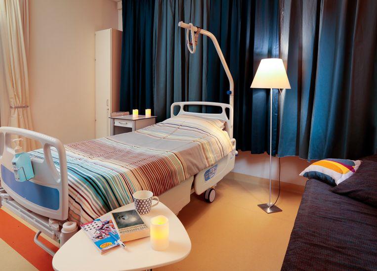 UMCG Groningen heeft een verplaatsbaar hospice. Beeld umc groningen