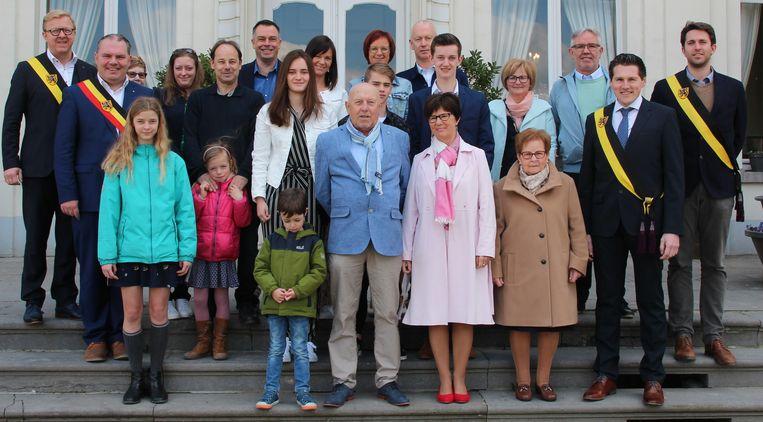 De gouden familie Kochuyt in Sleidinge.