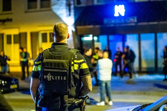 De politie deed in de nacht van vrijdag op zaterdag een inval.