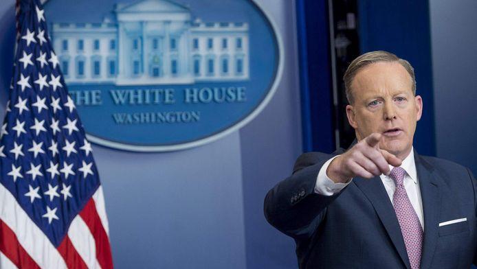 Sean Spicer, porte-parole de la Maison-Blanche