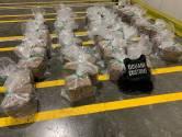 475 kilo cocaïne gevonden in lading bananen in Vlissingen