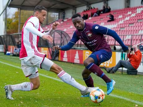 Hattrick Elton Kabangu bij beloften Willem II