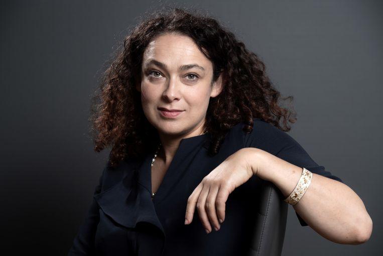 De Franse rabbijn Delphine Horvilleur: 'Er is geen reden Joden te haten, maar ook niet om bijzonder van ze te houden.'  Beeld AFP