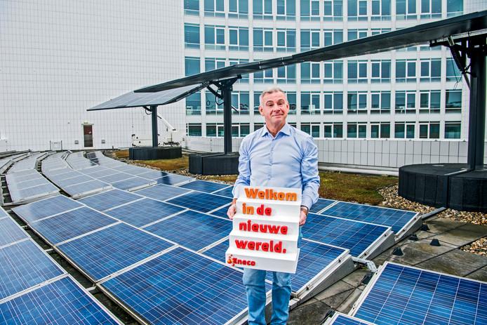 Willem Hofman, voorzitter ondernemingsraad Eneco, ziet gemeenten lonken naar het grote geld.