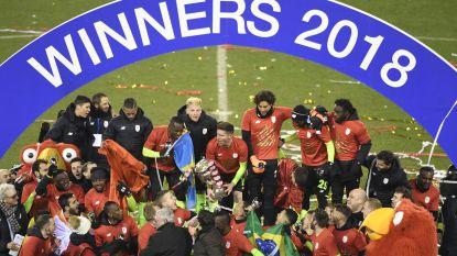 Het was nauwelijks om aan te zien, maar Standard wint voor tweede keer in drie jaar tijd de Cup dankzij bekerheld Emond